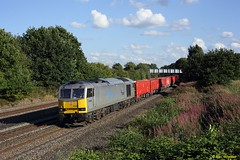 60066 Langley Mill (benwheeler) Tags: 60066 db cargo drax powering tomorrow langley mill 6z69 heck dowlow briggs