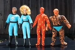 World's Greatest Super Heroes - The Fantastic Four ( Mego 1976 ) (Donald Deveau) Tags: mego actionfigure superhero wgsh worldsgreatestsuperheroes thefantasticfour toys toyphotography vintagetoy dolls