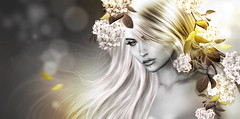 🍂 Aυтυмη... Gσℓd ℓєανєѕ 🍂 (AyE ღ I'м α vιѕιoɴΛЯT) Tags: digitalart digitalpainting digitalfantasy painting artworks portraits beauty illustrations artportrait ritratto retrato portrature dreamy vision magical emotionalart emotional gold goldleaves goldemotions