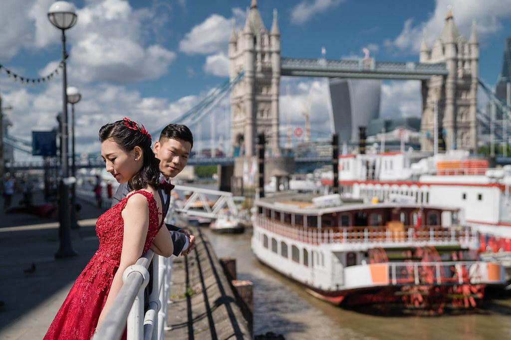 倫敦,婚紗