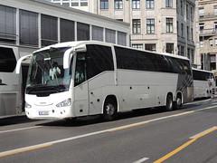 DSCN9797 Doprava a obchod, Praha 6 - Vokovice 4AE 4245 (Skillsbus) Tags: buses coaches germany czechrepublic scania irizar irízar century dopravaaobchod