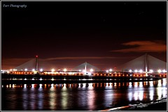 The Mersey Gateway Bridge (ParrPhotography) Tags: merseygateway mersey bridge runcorn widness liverpool river rivermersey night