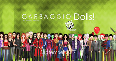 Garbaggio Dolls Good&Evil Collection (Ashleey Andrew) Tags: garbaggio sl secondlife second life virtual world original mesh dolls gacha doll toys figurines collectible parody parodies halloween good evil