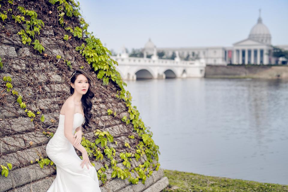 台南自助婚紗 奇美博物館 婚紗作品 Abby 030