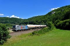 "193 828 ""Retrack"" Dollnstein (Matthias Greinwald) Tags: 193 828 retrack gaskessel güterzug zug vectron rp railpool"