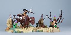Megedagik's War Bison (Brick Surgeon) Tags: native american indian lego wild west war bison warbison bisonsarecool