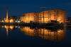 Double Pump (Mark Boadey) Tags: lights graces peirhead sunset liverpool mueseum reflecion albertdock fair thre boats