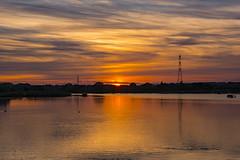 Longham Lakes - August Sunset (JackPeasePhotography) Tags: longham lakes dorset sunset glow sun colours orange golden light bournemouth