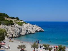 Rhodes (Frans Schmit) Tags: summer bluesky fransschmit mediterranian strand beach rhodos rhodes