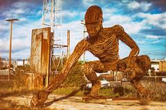 My Heart is Broke (Thomas Hawk) Tags: america bayarea burningman california eastbay karencusolito oakland usa unitedstates unitedstatesofamerica westcoast sculpture fav10 fav25 fav50 fav100