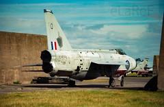 XR749 English Electric Lightning Q 8934M (eLaReF) Tags: leuchars scotland unitedkingdom