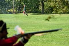 DSC_4596 (Mark Morello) Tags: brownsraid fortticonderoga newyork ticonderoga lakechamplain lakegeorge encampment battle reenactment revolutinarywar 1777 britishregulars vermontstateregulars mountdefiance gerrmans usa