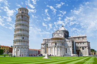 Tower of Pisa and the Duomo (Santa Maria Assunta), Italy