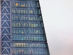 Slice Of Cheese (Douguerreotype) Tags: leadenhallbuilding cheesegrater geometric glass london uk finance buildings british diagonal window architecture geometry britain city gb urban england