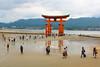 Miyajima (tatitorna) Tags: miyajima torii island portal sea marea people arquitectura atraccion turists japan
