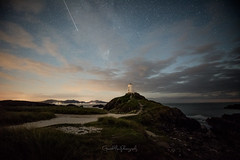 Make a Wish (Gareth Mon Jones) Tags: astrophotography nighphotography starscape llanddwyn anglesey wales meteor