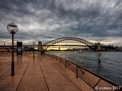 Day's End @ Sydney Harbour (orgazmo) Tags: australia sydney sydneyharbour harbourbridge nsw newsouthwales downunder landscapes urbanlandscape sky skyscapes clouds outdoors bridges olympus omd em1mk2 micro43s m43s mft panasonic lumix lumixgvario714mmf4