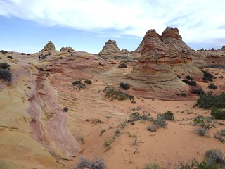 buttes and colors