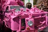 Robolights (pburka) Tags: car truck pink artcar folkart elephant drill powerdrill powertool kennyirwin palmsprings robolights