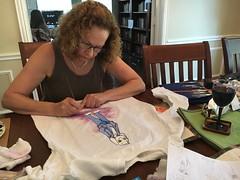 Painting (greatandlittle) Tags: grandma painting undertale shirt asriel storyswap
