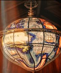Exploration (clarkcg photography) Tags: globe explorers 1500s longitude latitude poles light paint bronze stainglass smile sliderssunday