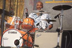 "Tab Benoit (2017) 05 - Jeffrey ""Jellybean"" Alexander (KM's Live Music shots) Tags: blues unitedstates neworleans jeffreyjellybeanalexander tabbenoit drumkit drums neworleansjazzheritagefestival bluestent fairgroundsracecourseneworleans"