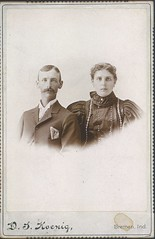 Calvin Koontz collection -  39 - William and Mabel [Kuntz] Felten