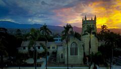 Church in Santa Barbara (Eve Photography By JC Clemens) Tags: santabarbara california unitedstates us dji mavic pro santa barbara landscape sunset