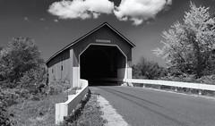 Carlton bridge (Tim Ravenscroft) Tags: carlton coveredbridge newhampshire usa monochrome blackandwhite blackwhite hasselblad hasselbladx1d x1d