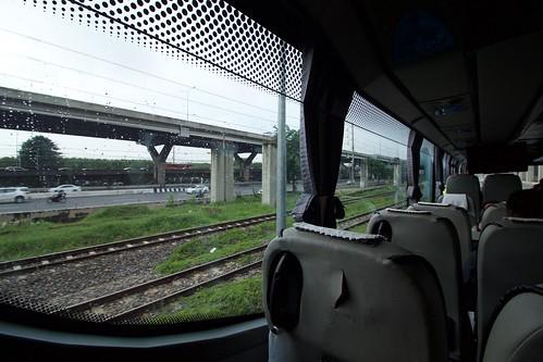 En met de bus verder naar Hua Hin