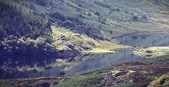 lake reflection (zxious) Tags: capelcurig reflections canon600d sigma150500mmlens snowdonianationalpark snowdonia august landscape lake water light moody bright contrast