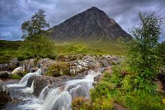 Buachaille Etive Mòr,Glencoe,Scotland (jimmys 2008) Tags: scotland glencoe highlands buachailleetivemòr waterfall