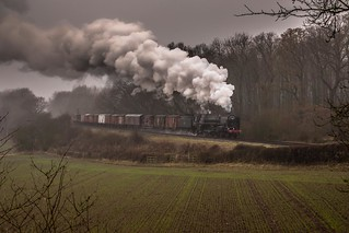 Oliver Cromwell in the gloom