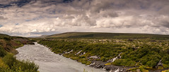 island1-157 (Peter Fuchs) Tags: island iceland vacation 2017 hraunfossar wasserfall waterfall sony a7r vario tessar 1635mm fe emount fullframe river water dramatic sky nisi filter system