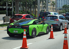 """""""Going Green"""" BMW i8 (Infinity & Beyond Photography) Tags: bmw i8 green exotic car miami cars"""