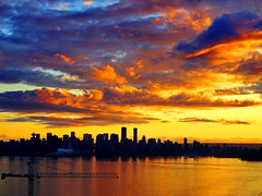 Friday night's awesome sunset skies: A series (+5) (peggyhr) Tags: peggyhr sunset clouds orange silhouettes harbour crane cityscape skyline reflections dsc08836a vancouver bc canada sonydschx80 blue mauve yellow white series interestingviews niceasitgets~level1 heartawards carolinasfarmfriends level1peaceawards niceasitgets~level2 50faves frameit~level01~ thegalaxy thegalaxystars super~sixbronze☆stage1☆ groupecharliel1 thelooklevel1red