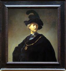 Old Man with a Gold Chain - Rembrandt Harmenz. van Rijn (alplatt) Tags: artinstitute chicago artinstituteofchicago chicagoartinstitute art institute framed museum