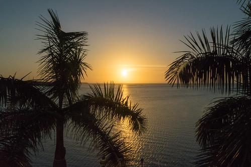 Romantic sunset in São Luìs