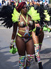 DSC_2481a Notting Hill Caribbean Carnival London Exotic Colourful Costume with Black and Lime Green Feathers Showgirl Performer Aug 28 2017 Stunning Big Beautiful Woman (photographer695) Tags: notting hill caribbean carnival london exotic colourful costume showgirl performer aug 28 2017 stunning ladies big beautiful woman bbw with black lime green feathers