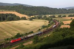 DB 185 265 + goederentrein  - Freden (Rene_Potsdam) Tags: br185 railroad deutsche bahn freden leine