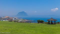 Jeju coastline (Jhopne) Tags: canonef2470mmf28lusm canoneos5dmarkii island bay sea grass sky landscape water ocean