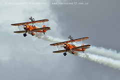 1C5A3342 Wingwalkers (photozone72) Tags: scampton airshows aircraft airshow aviation canon canon7dmk2 canon100400f4556lii 7dmk2 breitlingwingwalkers breitling stearman boeing biplane props wingwalkers