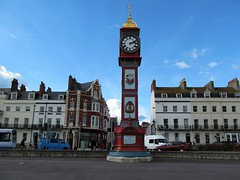 Weymouth Jubilee Clock (pefkosmad) Tags: weymouth dorset england uk clock tower jubilee landmark esplanade holiday vacation vacances queenvictoria streetfurniture