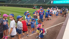 """Paul in Line to Run the Bases at Wrigley • <a style=""""font-size:0.8em;"""" href=""""http://www.flickr.com/photos/109120354@N07/36850324875/"""" target=""""_blank"""">View on Flickr</a>"""