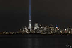 ALWAYS IN MY HEART (BUSTER NYC) Tags: 911 world trade tribute lights canon 70d