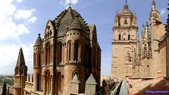 Salamanca (santiagolopezpastor) Tags: salamanca provinciadesalamanca castilla castillayleón espagne españa spain cathedral catedral medieval middleages románico romanesque cimborrio
