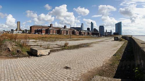 Derelict Docks, Liverpool