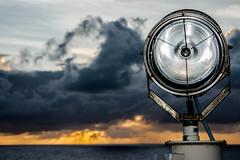 spot light (-gregg-) Tags: spot light cruise ship clouds ocean