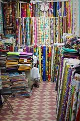 The Women All Ooh (michael.veltman) Tags: doha qatar shop bolt fabric color
