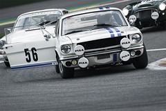 Ford Mustang (Vincent Dehon) Tags: spa 6 hours 2017 six endurance 56 ford mustang andy yool rick wood race fia masters historic sports car championship auto automotive racing speed panning motorsport francorchamps 6hours chicane nikon d800 nikkor rain 200500 action